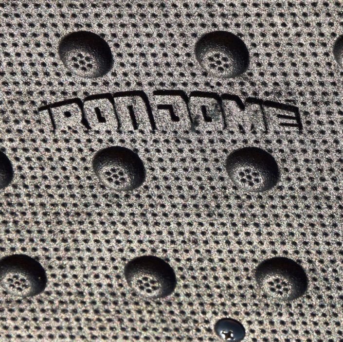 IRON DOME Logo on Tactile Panel