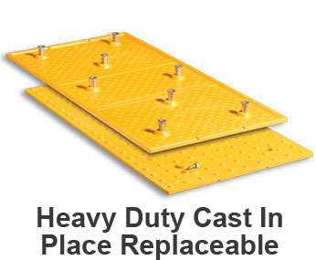 Heavy Duty Cast in Place Replaceable