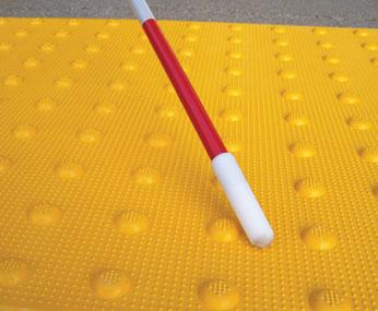 Yellow Transit Tactile Warning Surface