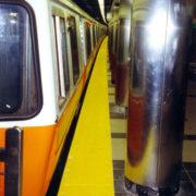 Transit Tactile Tile on Subway