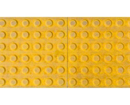 Tactile paving isolated