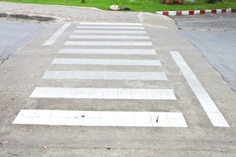 intersection curb ramp