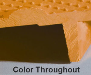 Tactile Panel Showing Yellow Color Throughout