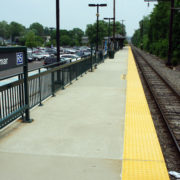 Yellow Tactile Tactile Surface at Transit