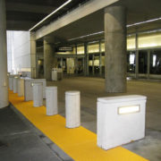 Yellow ADA Compliant Transit Warning Surface