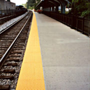 Yellow Transit Tactile Surface