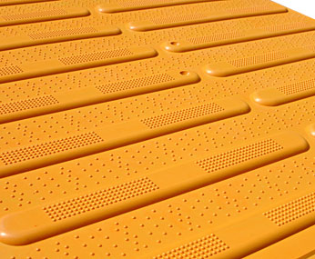 Yellow Way Finding Surface Product