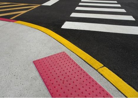 ada compliant painted sidewalk