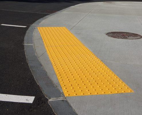 sidewalk curb anti slip pad