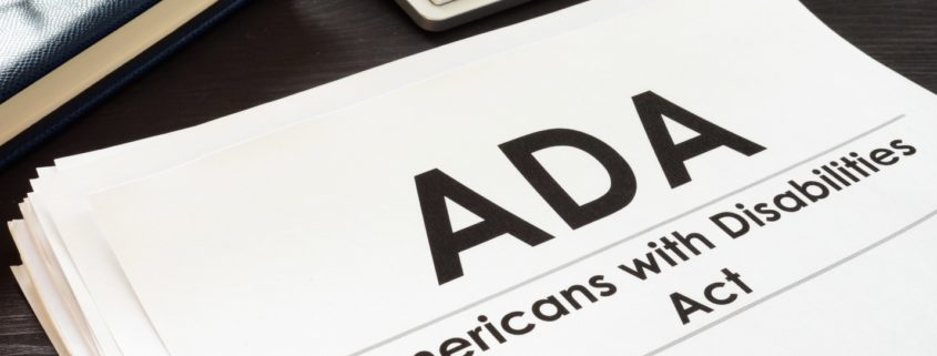 Americans with Disabilities Act ADA and glasses