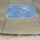 diagonal tactile paving at platform edge
