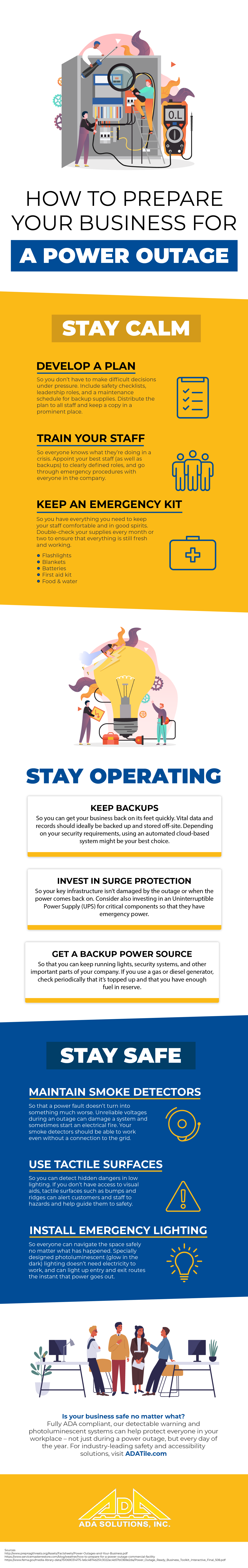 How to Prepare Your Business for a Power Outage (Infographic)