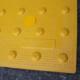 yellow detectable warning tiles