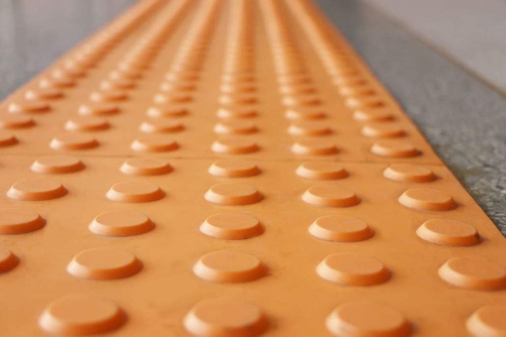 Tactile paving is a system of textured ground surface indicator found on footpaths